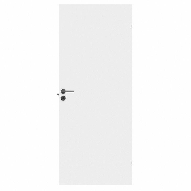 M7x19 Hvid glat compact dør - SWED