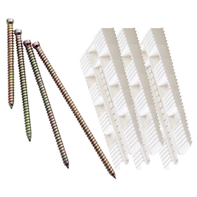 Montage-kit kiler-skruer 7,5x112mm-4,5x50mm
