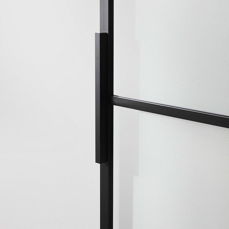 Skydedør fra Habo, Square, glas
