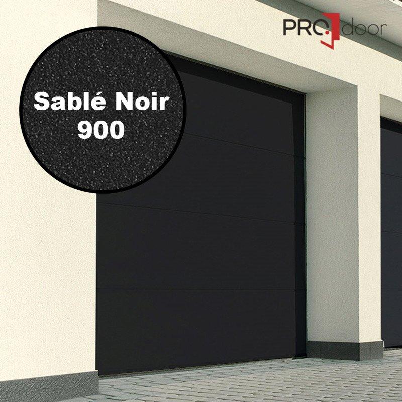Ledhejseport fra ProDoor, Highline, Silkline, Sablé Noir 900