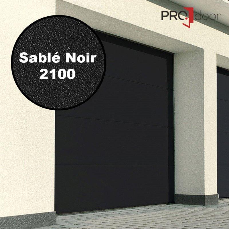 Ledhejseport fra ProDoor, Highline, Silkline, Sablé Noir 2100