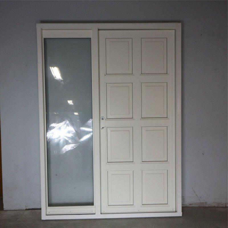 Facadedør med sideparti 158x216 cm